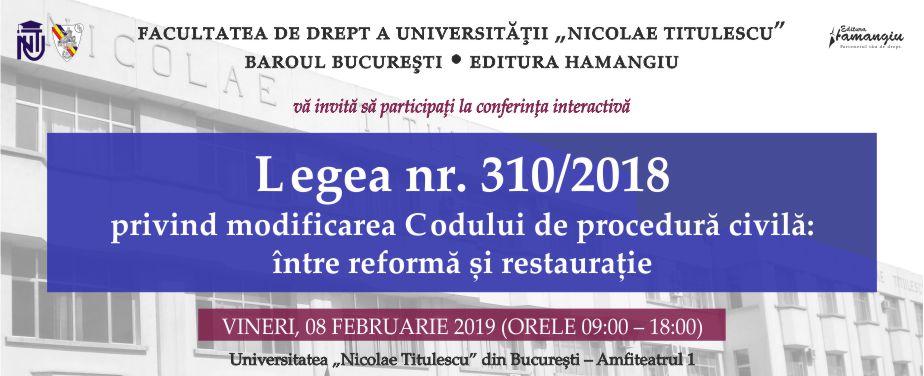 Conferinta Legea nr 310 CPC_banner